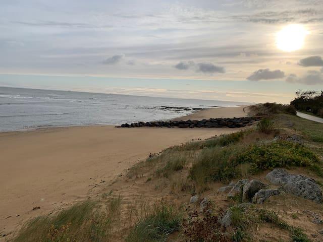 Magnifique mobil-home à 50m de l'océan