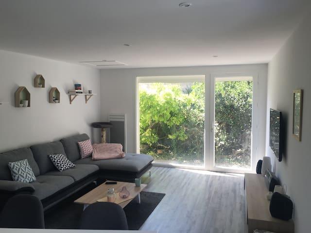 Bel appartement 80m2 avec jardin - Montélimar - Casa