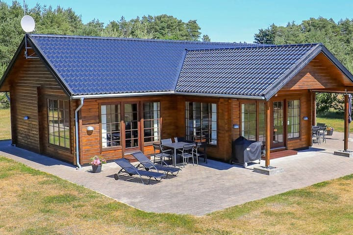 Spacious Holiday Home in Albeak with a terrace
