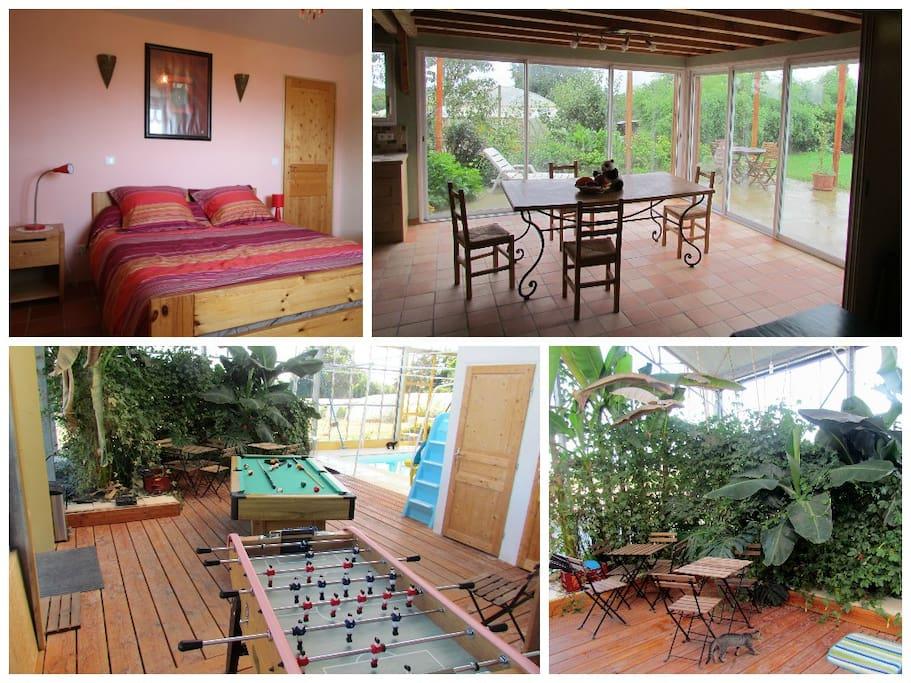 Gite de groupe en campagne avec piscine couverte maisons for Gite de groupe avec piscine couverte