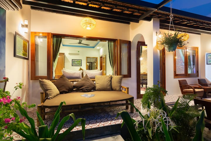 Private Entire ❤️ 2Bedrooms Beach Villa Hoi An.