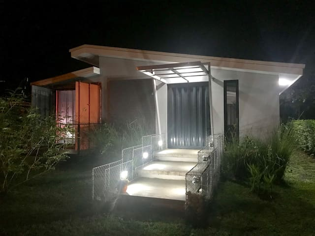 Amazing Shipping Container Home, Playa Agujas
