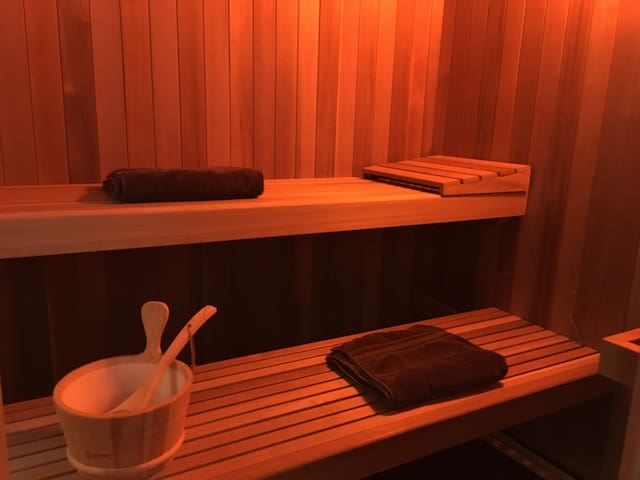 NEW Sauna for your ultimate ZEN experience