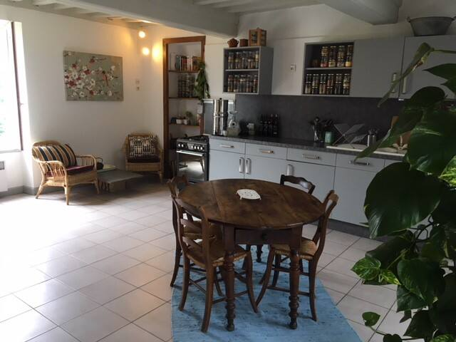 Small housse in the heart of the Morvan's parc