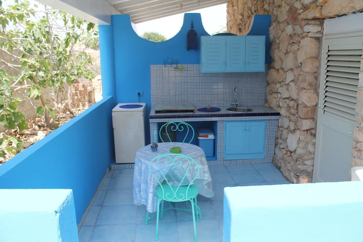 Studio apartment near CalaCreta bay - Lampedusa e Linosa - Flat