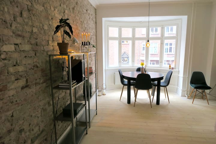 Charming apartment next to the waterfront - København - Flat