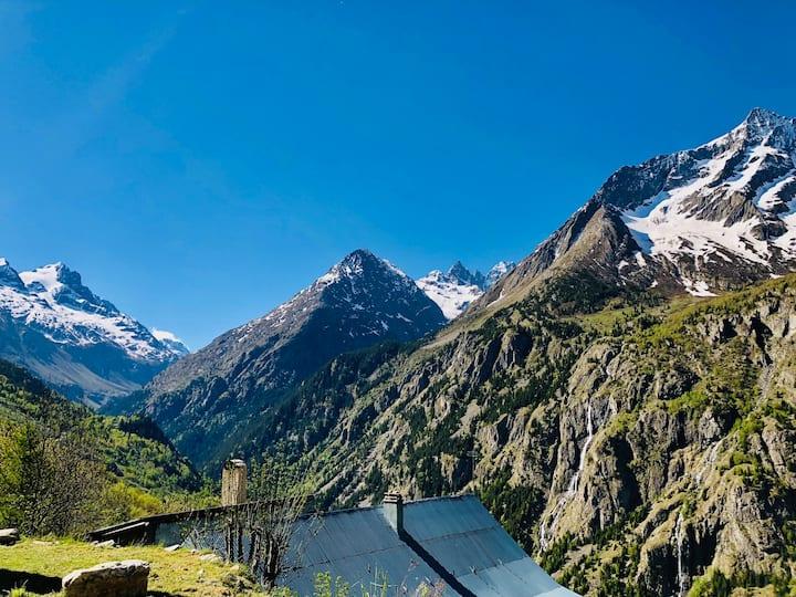 Luxueux Chalet Bergerie 2 Alpes/St Christophe