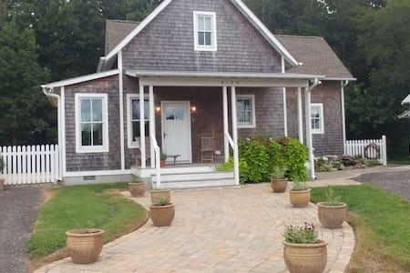 Beautiful 2 BR Home on Large Partially Wooded Lot.