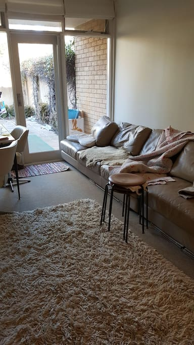 super long leather lounges to relax