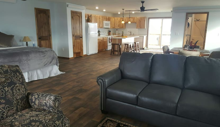 1100 square feet of living space