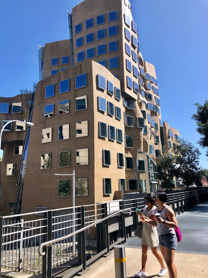 World renowned  architecture in Ultimo