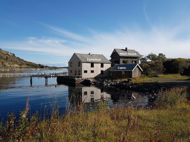 "Lofoten Lodge Sea house ""Egnerbua"", Henningsvær"