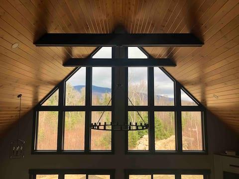 Sparkling New White Mountain Home