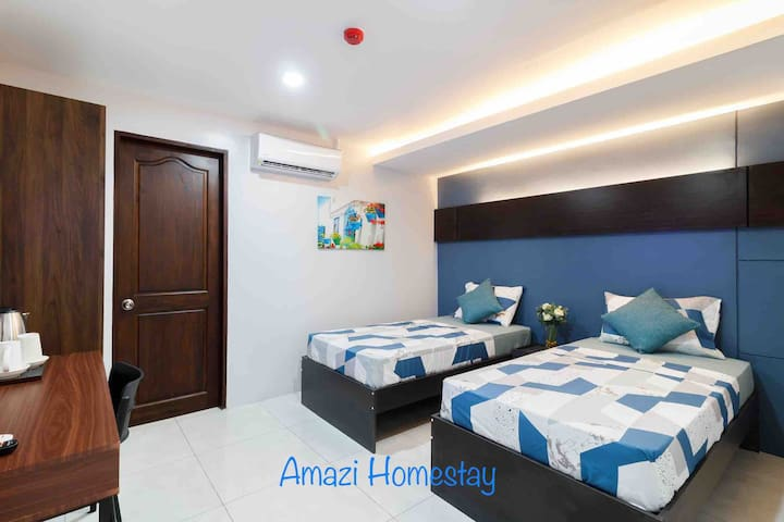 Amazi Homestay-Dumaguete Standard+27mbps+Near Mall