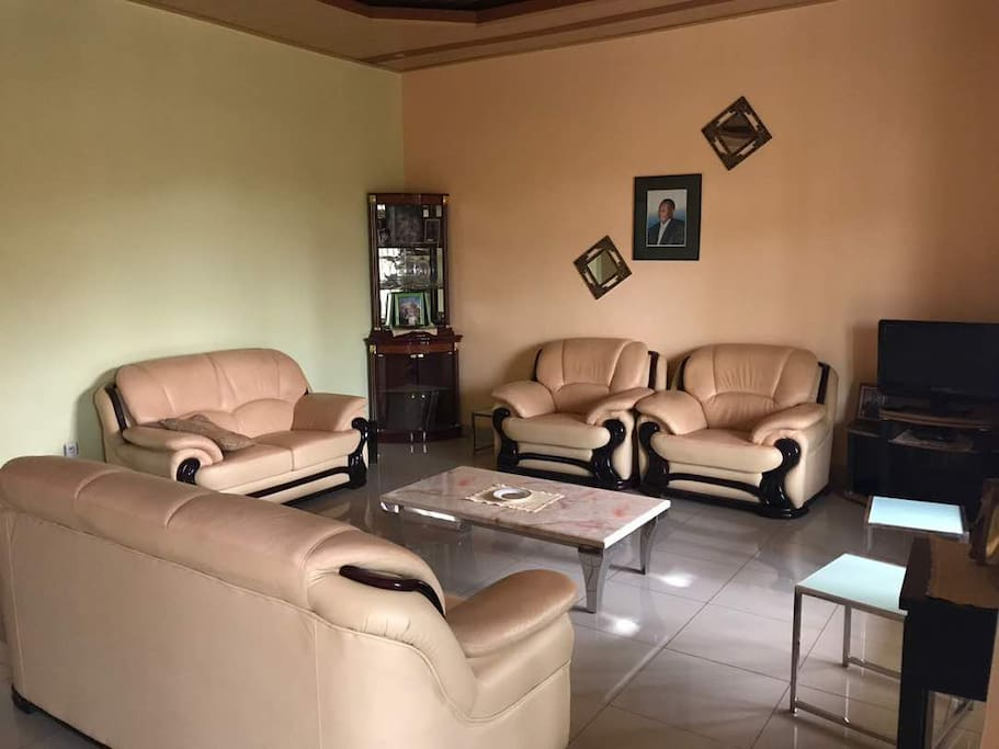 Guests have access to the Living room