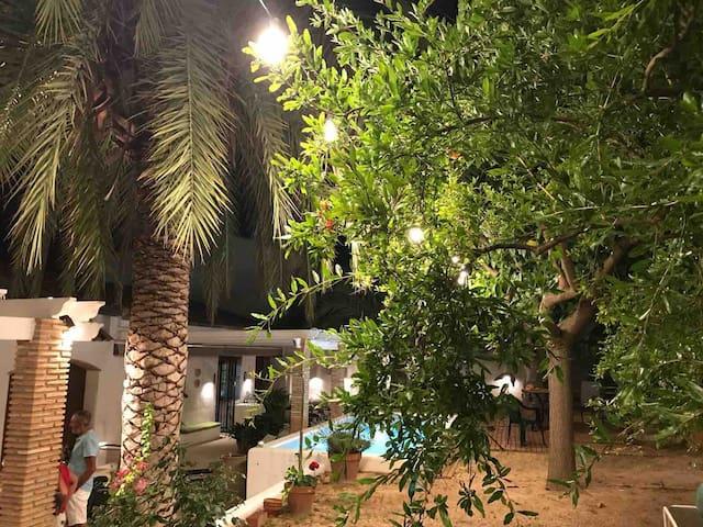 """""""Casa Rafa"""" en Gaianes. Piscina exclusiva barbacoa"""