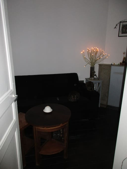 private room with the reversible sofa