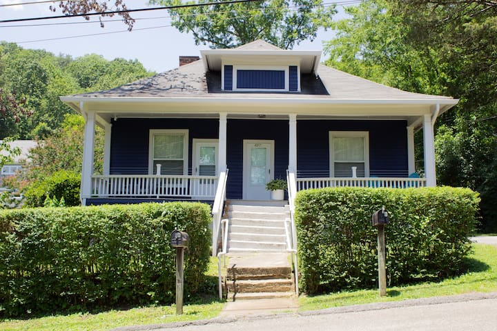 5 ☆ The Blue Bungalow Downtown Chattanooga (B)