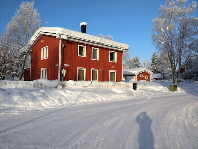 Big modern villa, centrally in Jokkmokk