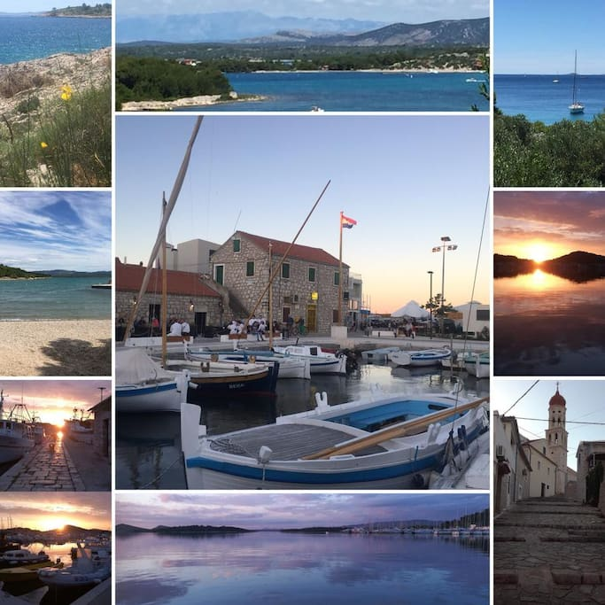 Betina - the pearl of Croatian coast
