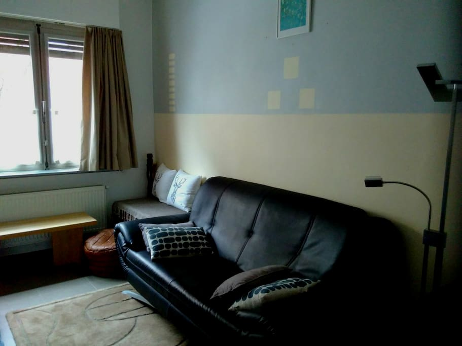 long sofa in livingroom