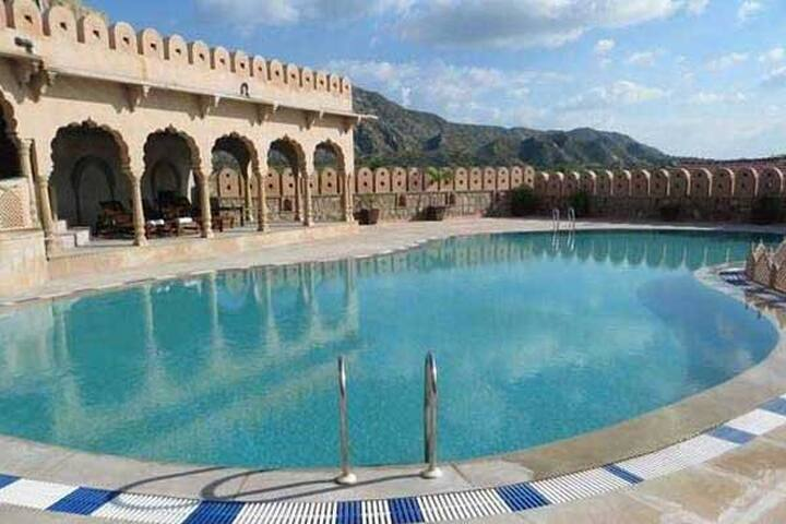 Heritage Hotel in Pushkar-Private room-2 People