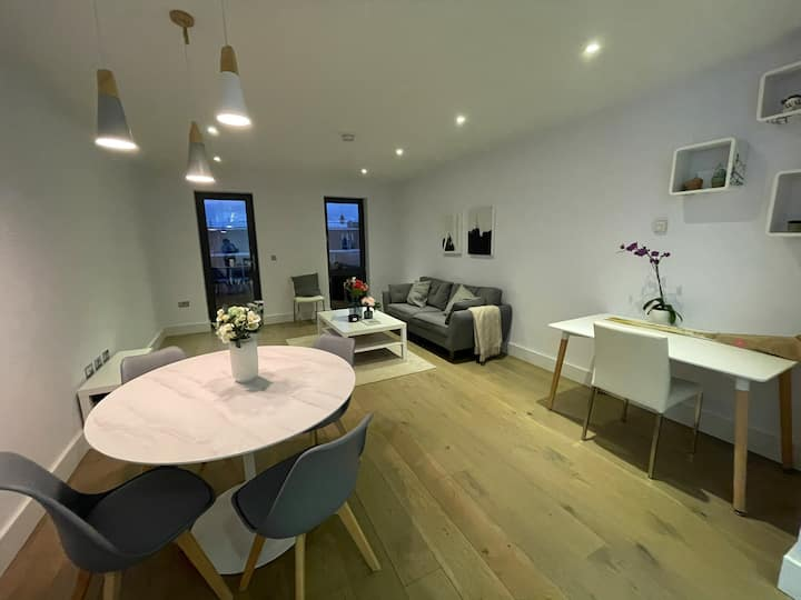 1100 sq ft Penthouse in trendy Hackney