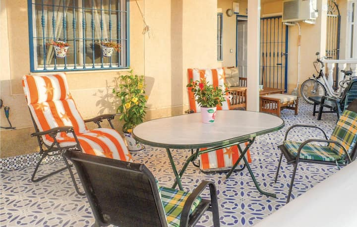 Awesome home in Torrevieja with 1 Bedrooms and WiFi