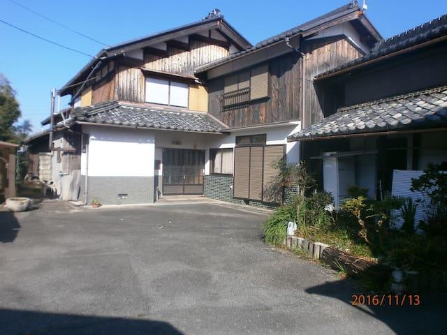 パート3NISIYUKIの家  JR安曇川駅から4km古民家でバンド練習、テニス合宿できます駐車場有 - Takashima-shi - Casa