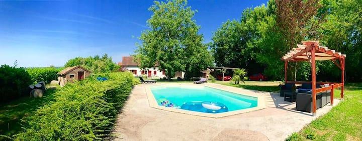Maison de campagne au cœur de la Bourgogne