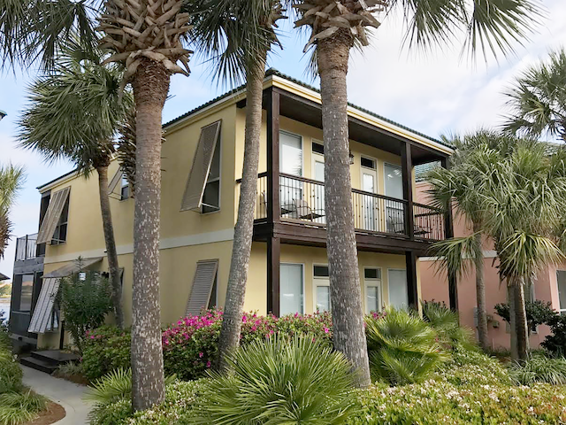 Lakefront! Gulf VIEWS! Comm.Pool☀2 Balconies!☀2BR Destiny Beach Villas 16A