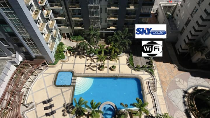 One Palmtree (10N) | 2BR near Airport | Long Stay