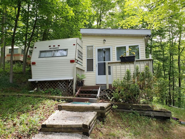 Bayfield Trailer Located at Wildwood by the River