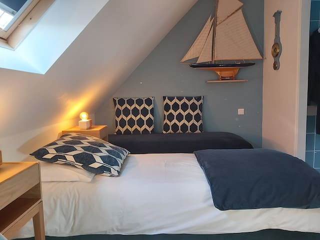 Comfort isoiphonic room for 2 people