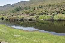 Breede River 5 meters away from the Mooiplaas River Cottage, great for fishing