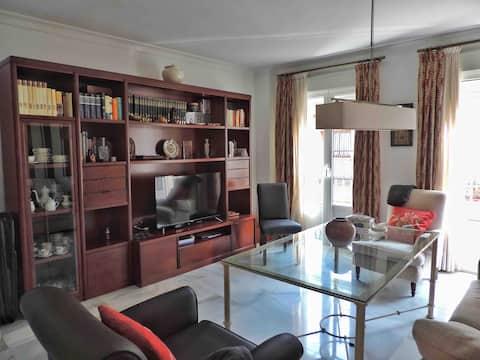 複式公寓,露臺,開車10分鐘即可抵達Seville市中心