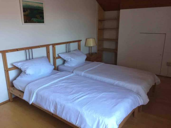Gemütliches, großes & ruhiges Zimmer nahe Salzburg