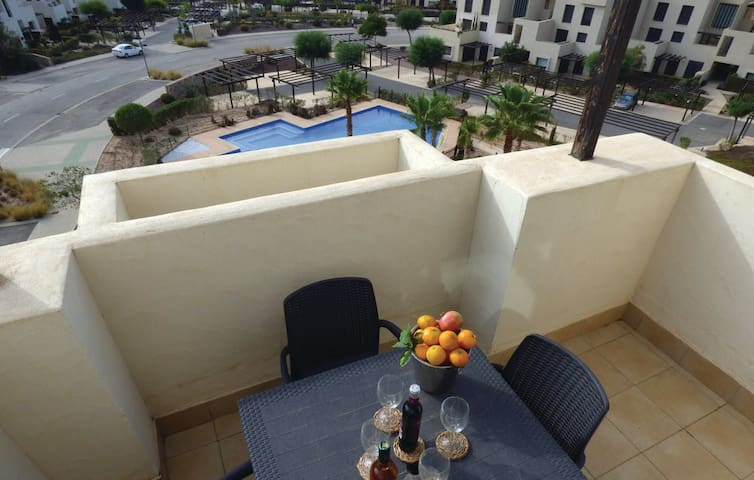 Penthouse apartment with great views, and quiet.