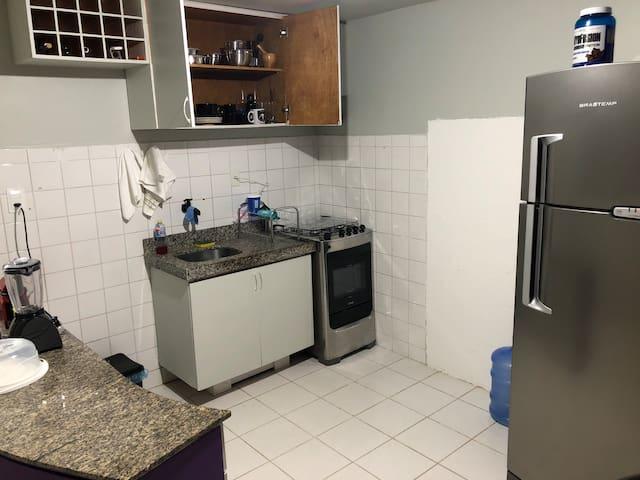 Cozinha anexa