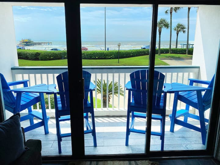 Book Now - Beach Open! Watch Waves From Balcony! Amazing View & Upscale! #150