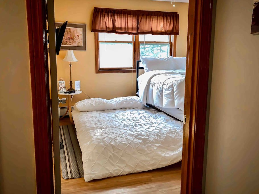 Shown is the full sized trundle bed.