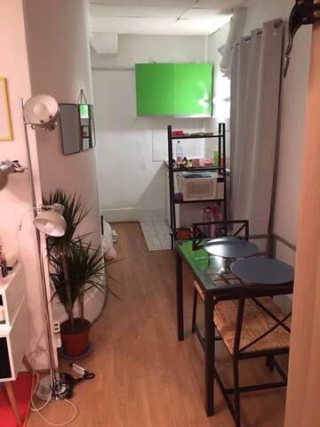 ★ Calm Studio In Paris 11th District - Paris - Apartemen