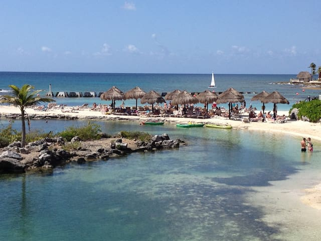 Apartment a few steps from the sea ( RENOVATED ) - Puerto Aventuras - Apartmen