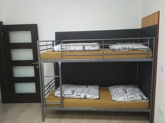 bunk bed in kitchin 2x 90x200 cm / poschodová posteľ v kuchyni 2x 90x200 cm