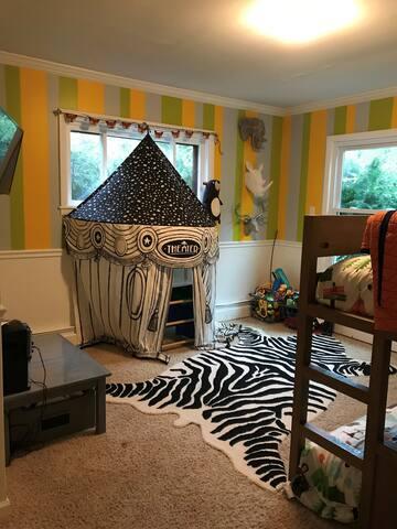 Bedroom #2 Twin Bunk Beds