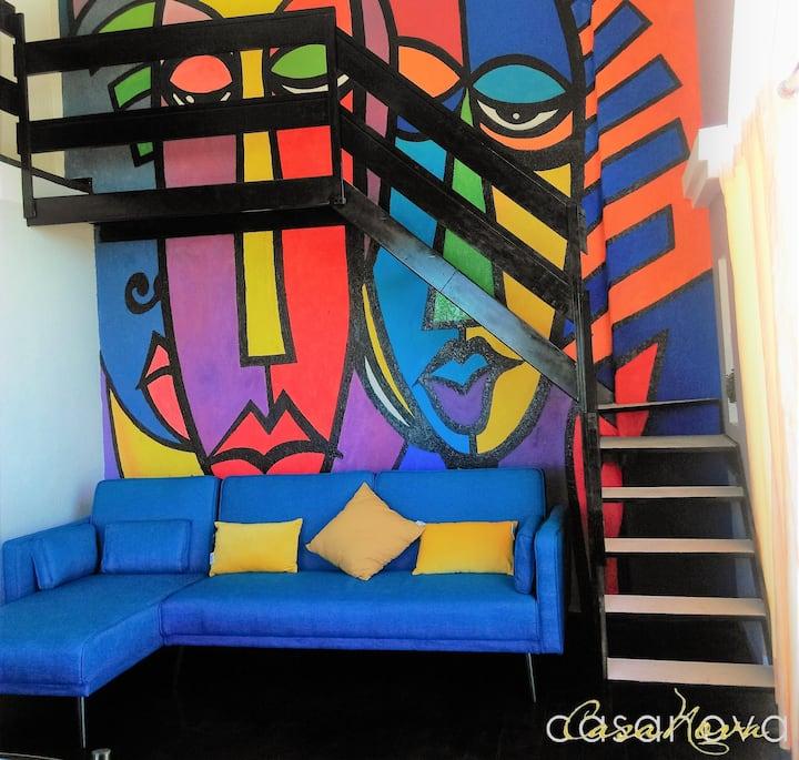 CASANOVA AQP: DÚPLEX FAMILIAR PARA 4