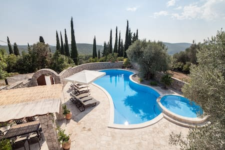 Luxury Villa with Private Pools and Sea Views - Luštica - House