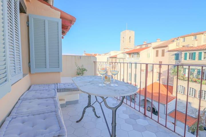 UNIQUE : Duplex & Terrace on the Provencal market