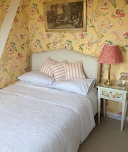 Beautiful Oxford en-suite bedroom, roof-top view - Oxford - Rumah