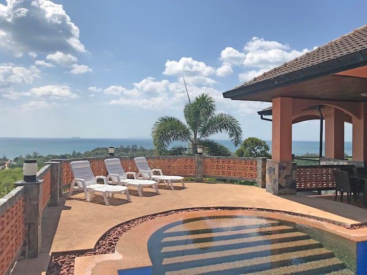 20% off! Seaview! Total Privacy - Villa Bellamonte